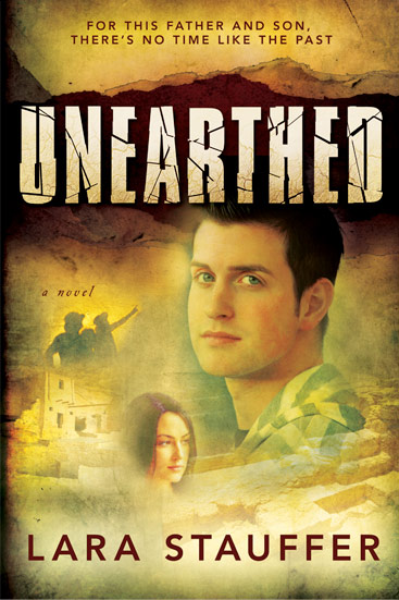 Unearthed_novel_by_Lara_Stauffer_cover